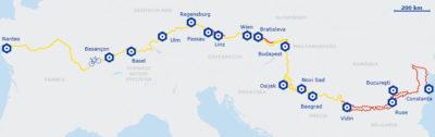 Itinéraire EuroVélo 6